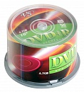Диск DVD+R VS 4.7 Gb, 16x, Cake Box (50), (50/250)