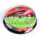Диск DVD+R VS 4.7 Gb, 16x, Cake Box (10), (10/200)