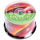 Диск DVD+R VS 4.7 Gb, 16x, Bulk (50), (50/600)