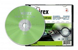 Диск DVD-RW Mirex 4.7 Gb, 4x, Slim Case (1), (1/50)